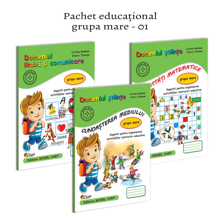 Pachet educational - grupa mare - 01