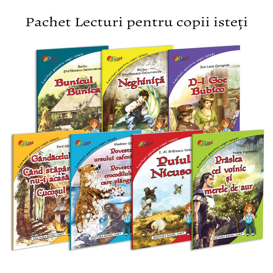 Pachet Lecturi pentru copii isteti 1
